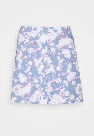 SKIRT - Mini skirt - multicolor/ambient sky