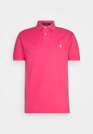CUSTOM SLIM FIT MESH POLO - Polo shirt - hot pink