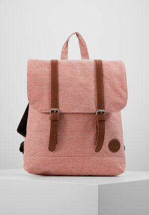 CITY BACKPACK MINI - Rucksack - melange red