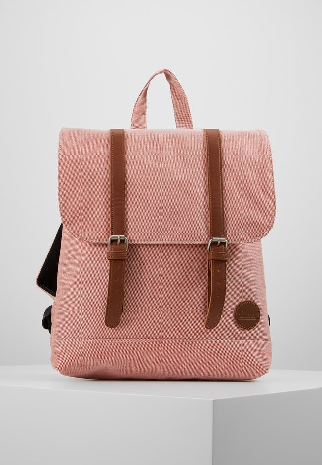 CITY BACKPACK MINI - Plecak - melange red