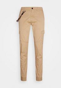 TOM TAILOR DENIM - Cargo trousers - smoked beige - 4