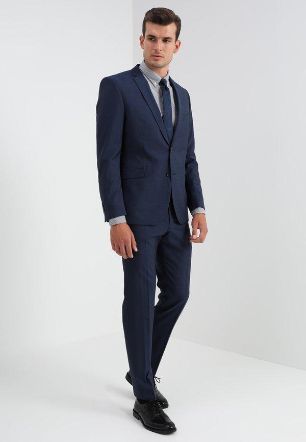 Tommy Hilfiger CORE STRIPE - Koszula - peacoat/bright white/niebieski Odzież Męska MRWP