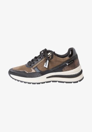 Sneakers laag - olive comb