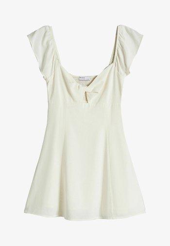Vestito elegante - beige