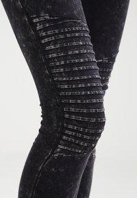 Urban Classics - Leggings - Trousers - darkgrey - 3