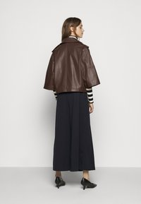 WEEKEND MaxMara - VENETO - Kožená bunda - bronze - 2