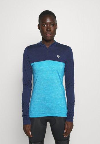SWET NUL WOMEN - Cyklistický dres - mykonos blue
