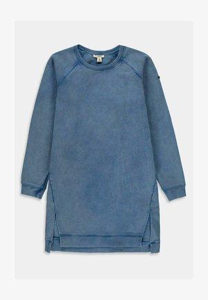 Jersey dress - blue medium washed