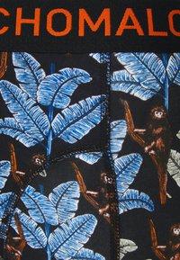 MUCHACHOMALO - BANANA 5 PACK - Boxerky - black/khaki/blue - 6