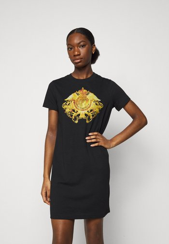 LADY DRESS - Jersey dress - black