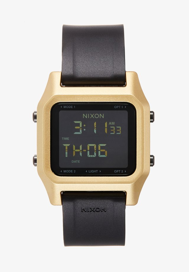 STAPLE - Reloj digital - black/gold-coloured