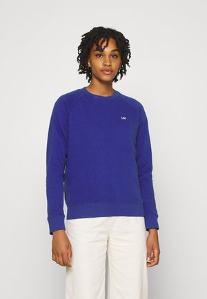 PLAIN CREW NECK - Sweatshirt - surf blue