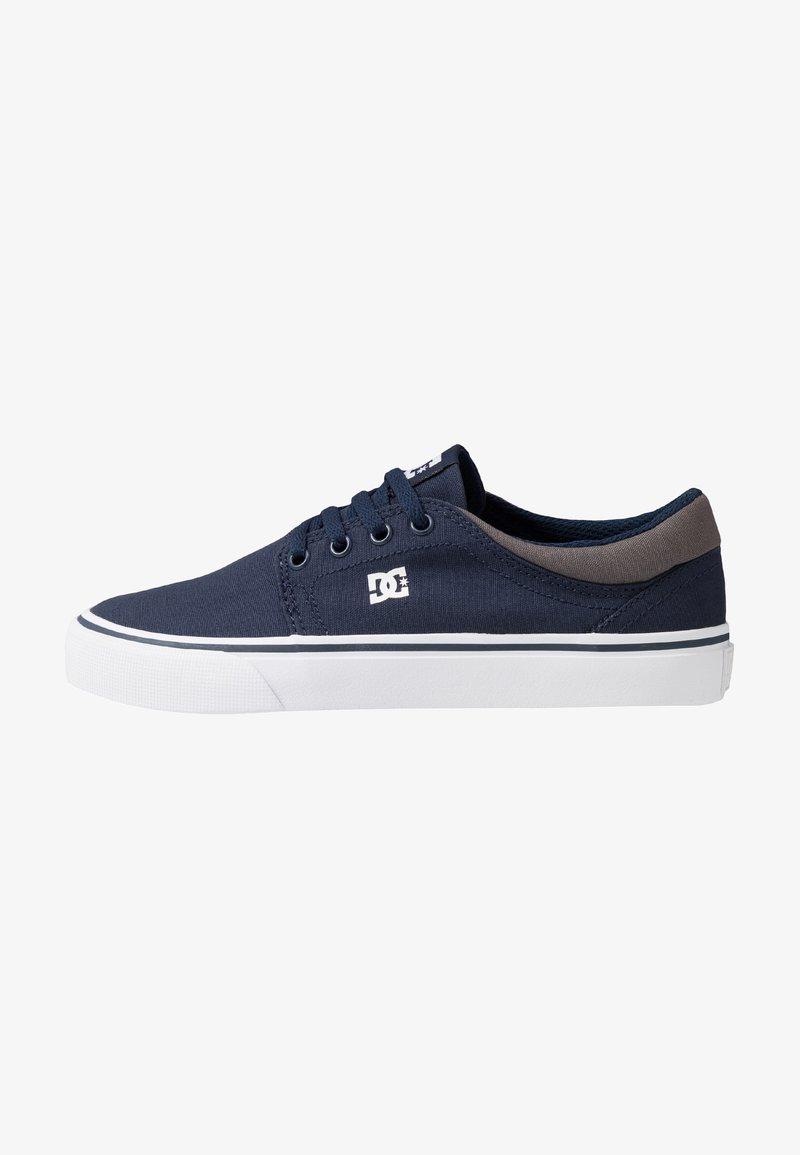 DC Shoes - TRASE - Zapatillas skate - navy/white