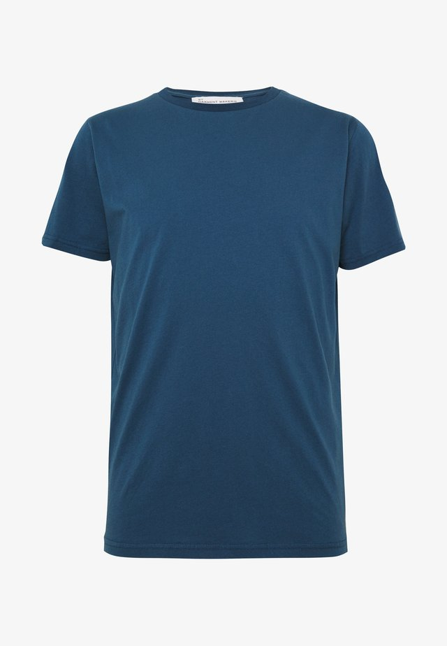 UNISEX THE ORGANIC TEE - T-shirt basic - blue