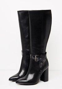faina - Cowboy/Biker boots - schwarz - 4