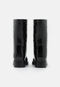 Guess - RIBBA - Botas de agua - black - 3