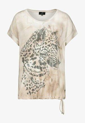 MIT STRASSELEMENT - Print T-shirt - white