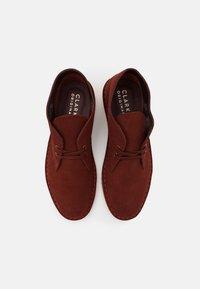 Clarks Originals - DESERT BOOT - Stringate sportive - rust brown - 3