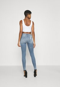 ONLY - ONLSHAPE LIFE - Jeans Skinny Fit - medium blue denim - 2