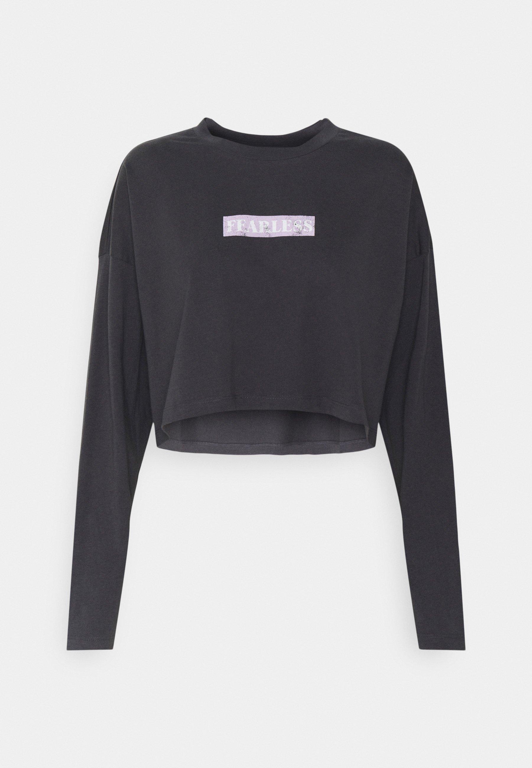 Women NMFRIDA SEMI CROPPED - Long sleeved top