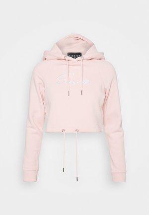 ESSENTIAL CROPPED HOOD - Sweatshirt - pink