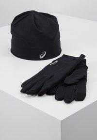 ASICS - RUNNING PACK SET UNISEX - Gloves - performance black - 0