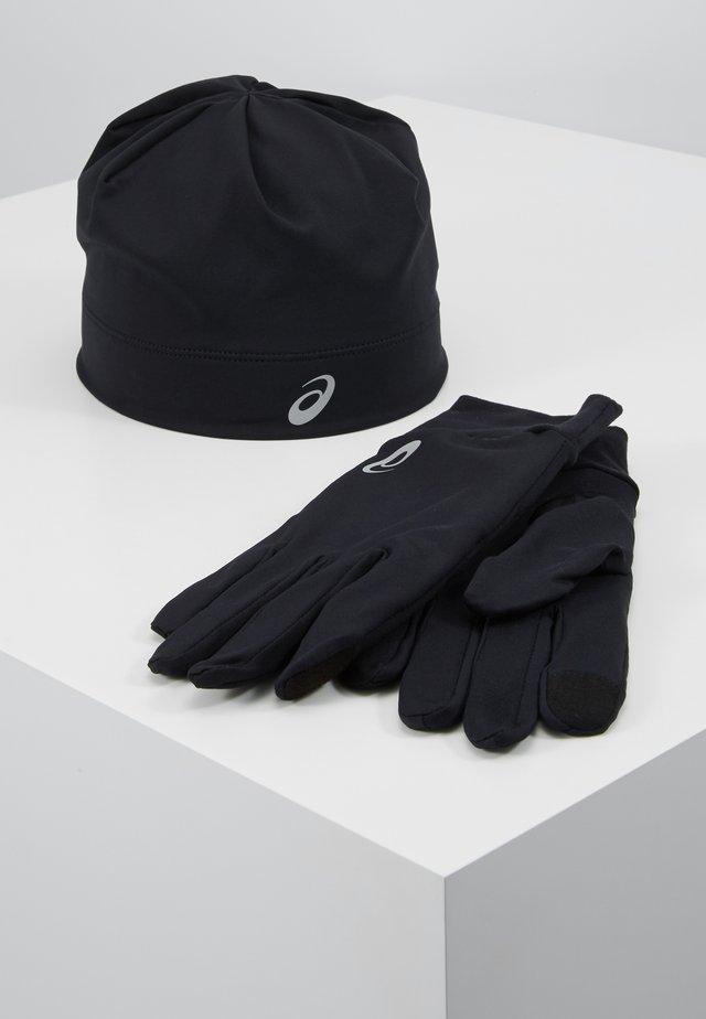 RUNNING PACK SET UNISEX - Gloves - performance black