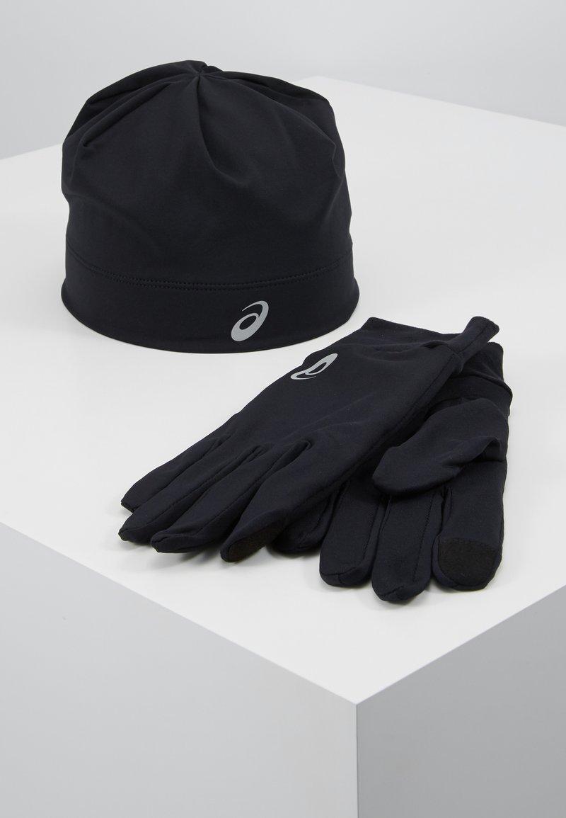 ASICS - RUNNING PACK SET UNISEX - Gloves - performance black