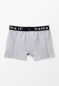 Name it - NKMBOXER SOLID 2 PACK - Pants - grey melange - 1
