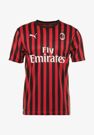 AC MAILAND 1899 HOME REPLICA WITH SPONSOR LOGO - Club wear - tango red/black