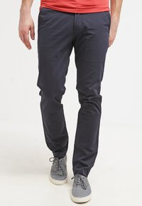 DOCKERS - BEST PRESSED INSIGNIA EXTRA SLIM - Chinos - navy - 0
