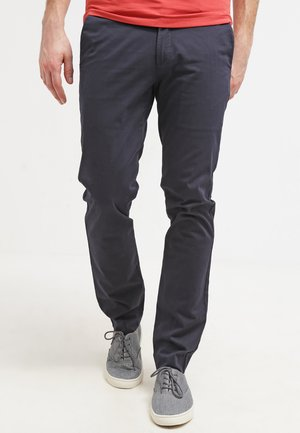 BEST PRESSED INSIGNIA EXTRA SLIM - Chinos - navy