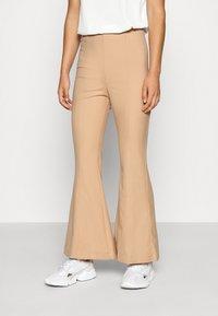 Monki - FIONA  - Trousers - beige - 2