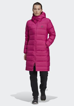 HELIONIC DOWN PARKA - Down coat - pink