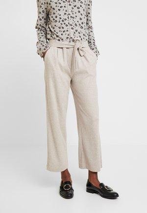 Kalhoty - light taupe melange