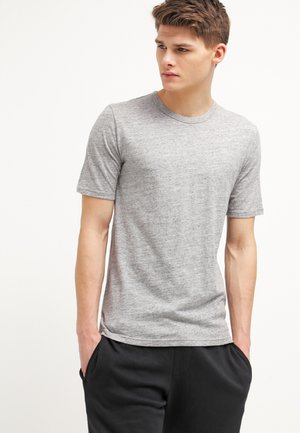DELTA - Basic T-shirt - light grey melange