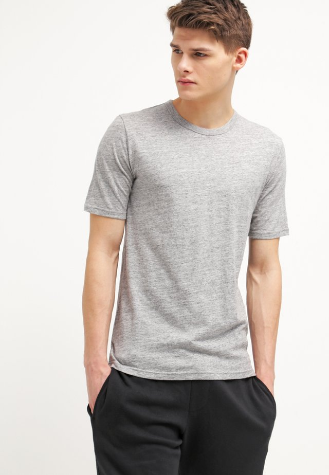 DELTA - T-shirt basic - light grey melange