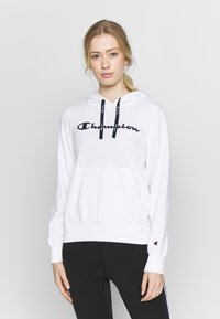 Champion - HOODED - Hoodie - white - 0