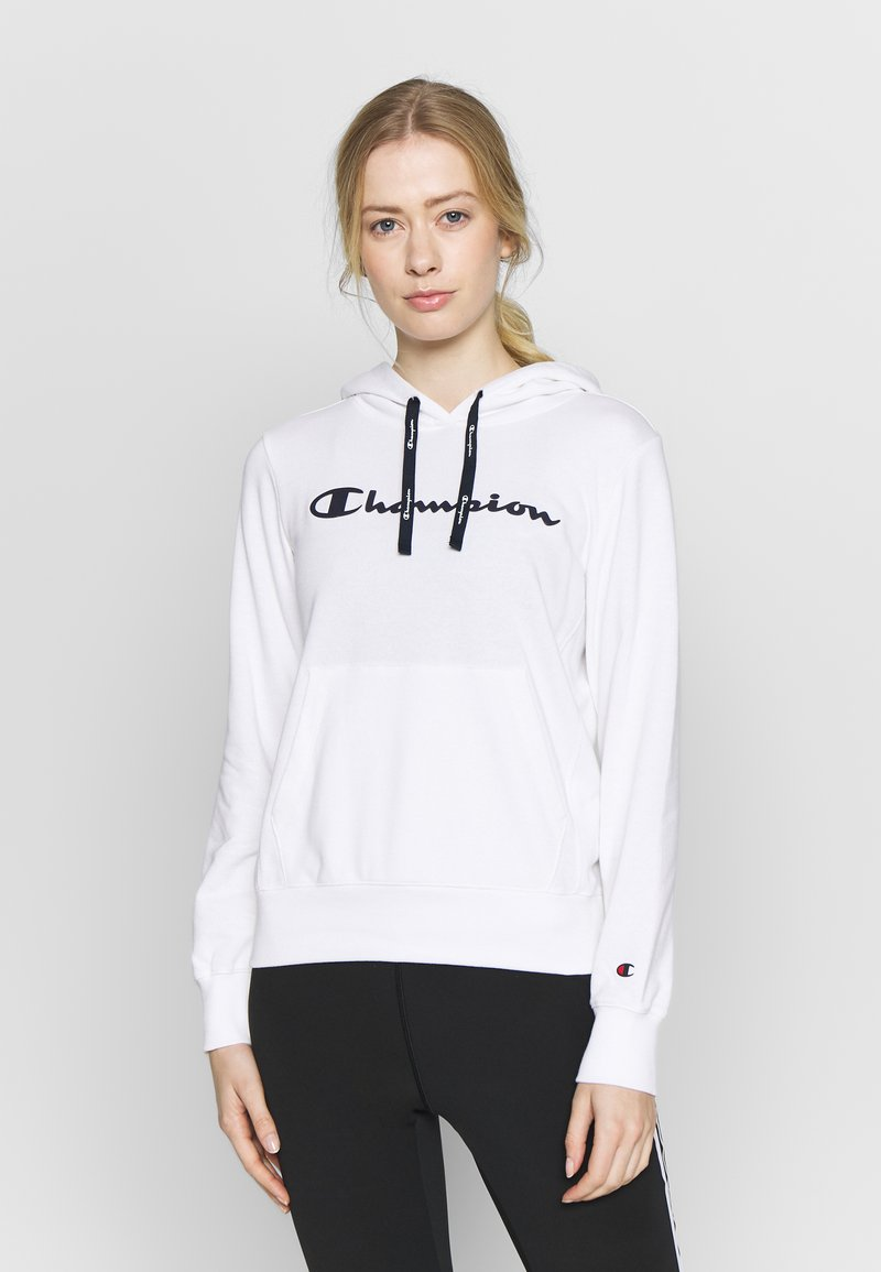 Champion - HOODED - Hoodie - white