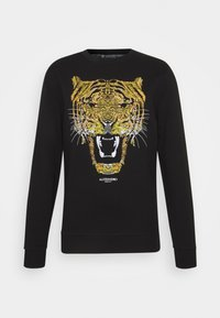 Alessandro Zavetti - GOLDEN GROWLER CREW - Sweatshirts - black - 4