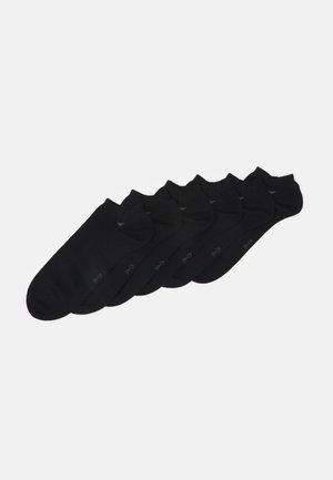 SHORTSNEAKER HIDDEN 6 PACK - Chaussettes - black