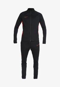 Nike Performance - DRY ACADEMY SUIT SET - Tracksuit - black/ember glow - 8