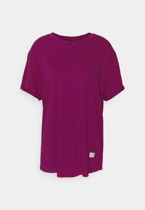 LASH FEM LOOSE R T WMN S\S - T-shirt basic - dark finch heather