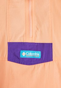 Columbia - SANTA ANA ANORAK - Veste coupe-vent - brigt nectar/clear water/vivid purple - 5