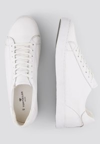TOM TAILOR - Casual lace-ups - white - 1