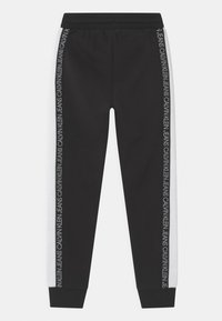 Calvin Klein Jeans - COLOUR BLOCK  - Pantalones deportivos - black - 1