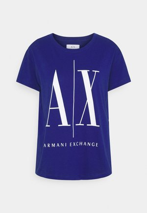 Print T-shirt - new ultramarine