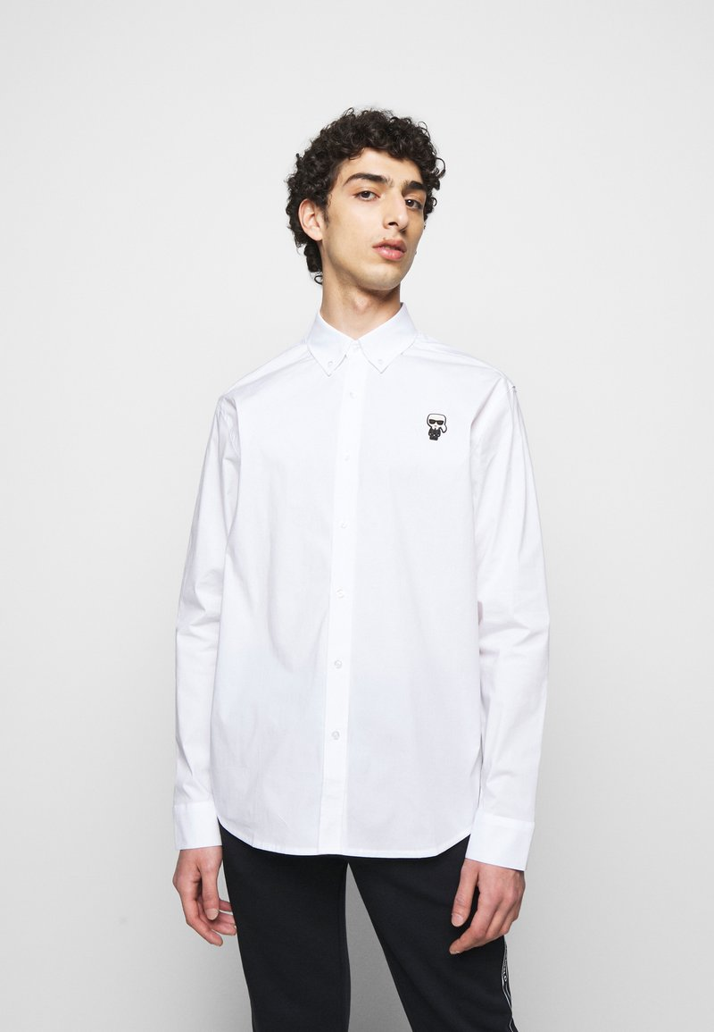KARL LAGERFELD - SHIRT CASUAL - Shirt - white