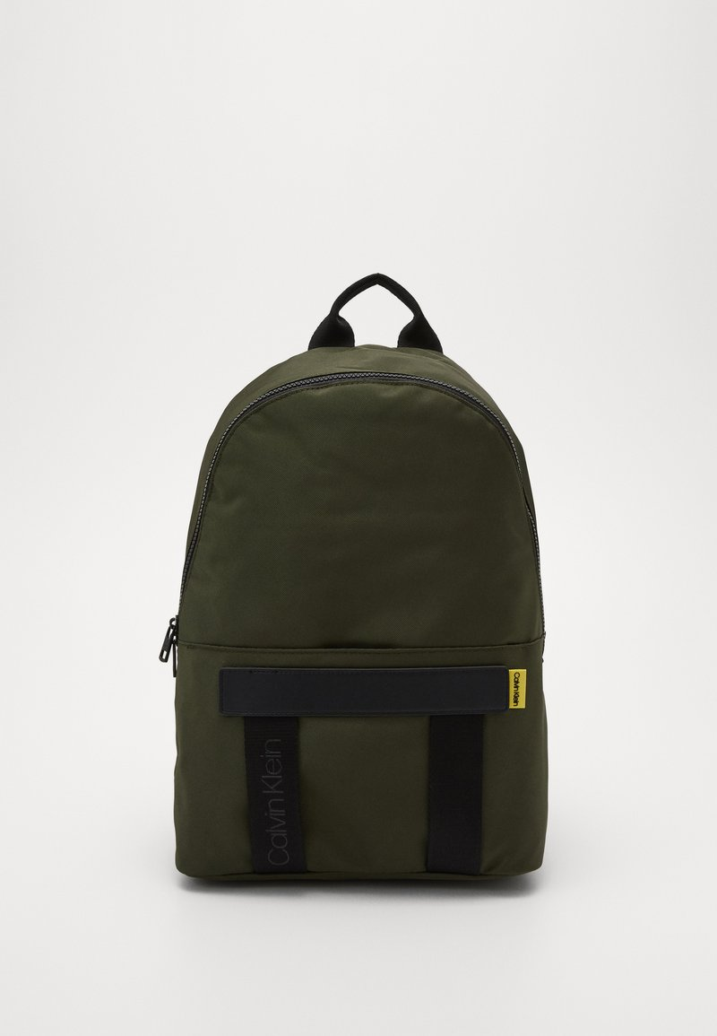 Calvin Klein - NASTRO LOGO BACKPACK - Reppu - green
