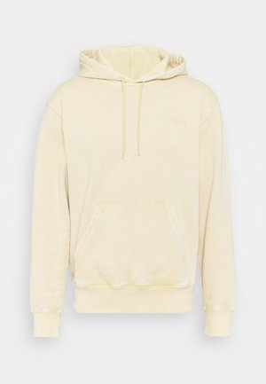 HOODED MOSBY - Sweatshirt - dusty brown